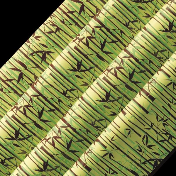 17-feuilles-imprimees-40-x-25-cm-bambou