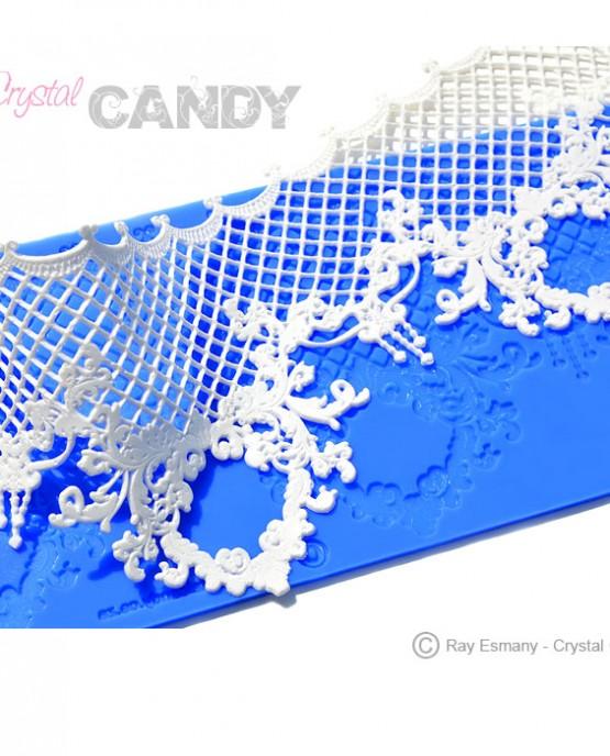 GC-015-Triumphal-renaissance-themed-silicone-mould-with-lace