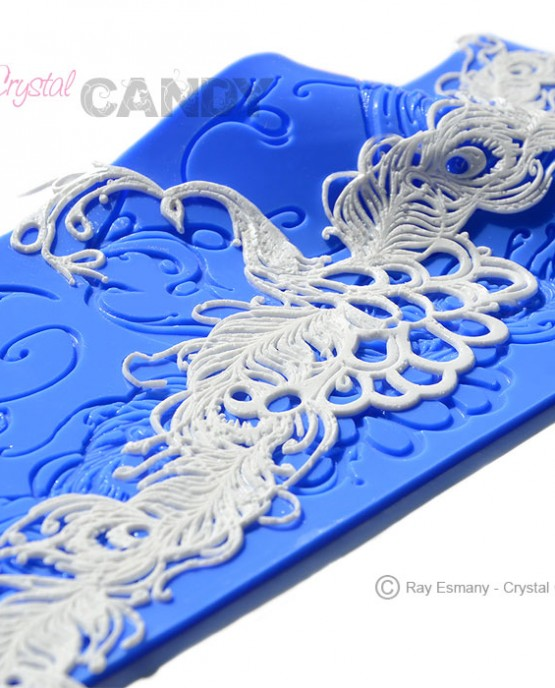 GC-016-Peacock-dance-lace-mould-with-lace