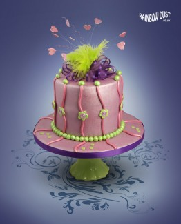 RD-Metallic-Paint-Lilac-and-Green-Cake-lo-res(1)
