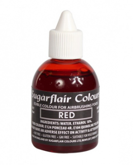 SUGARFLAIR 60 ML NEMETALIZAT RED