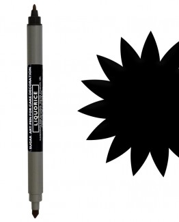 sugarflair-double-ended-pen-Liquorice
