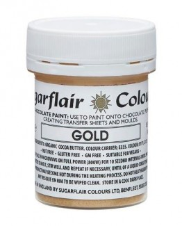 gold paint chocolate 35g