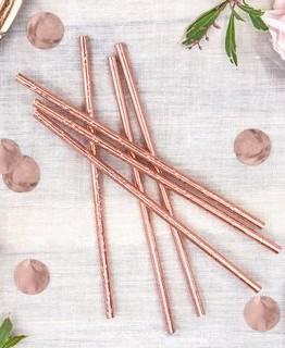 papier-strohhalme-party-rose-gold-195-cm-10-stueck